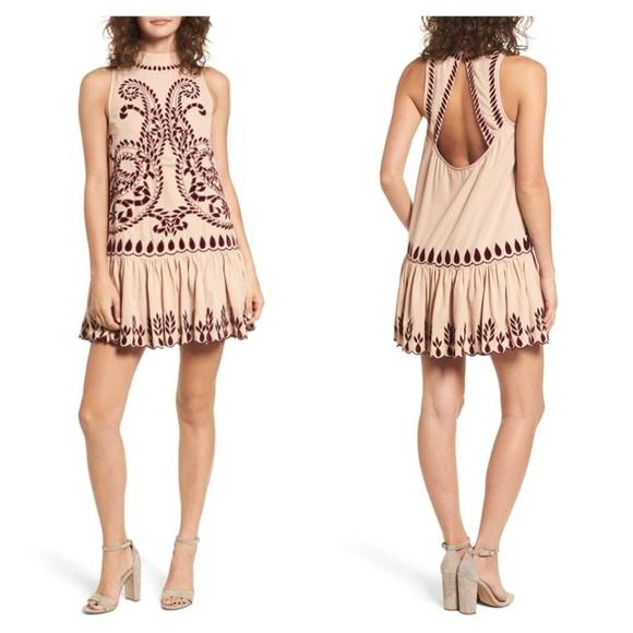 Kas New York Dresses & Skirts - KAS NEW YORK Lauren Drop Waist Minidress